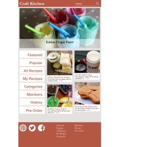 Static Home Page _ Tablet