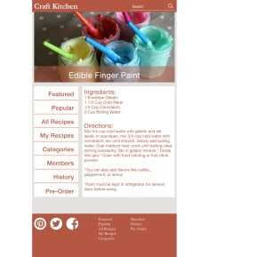 Static Recipe Page _ Tablet